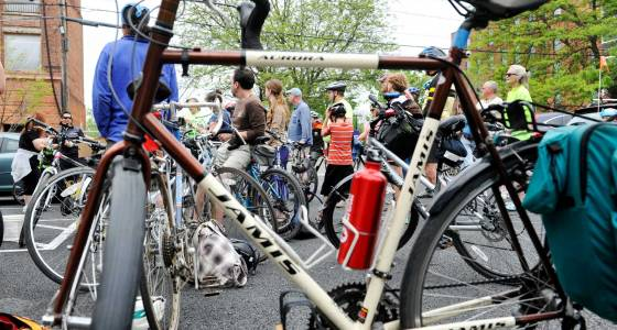 groups take tour of troy via bicycle m12