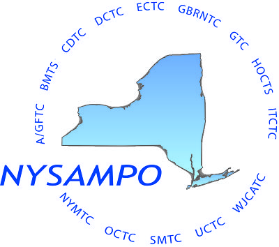 NYS Association of Metropolitan Planning Organizations Logo and Website Link